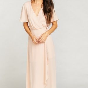 MUMU sophia wrap dress